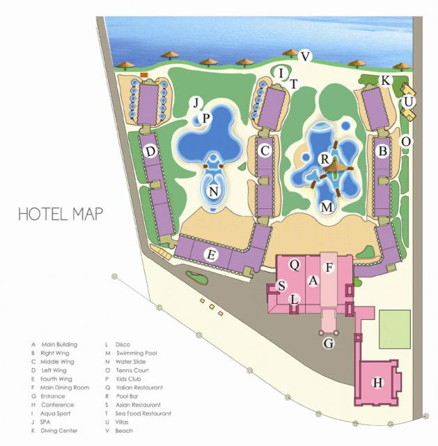 Pyramisa Site plan